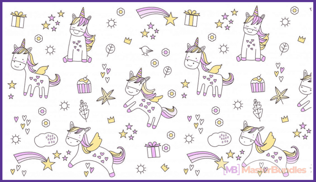 45+ Best Unicorn Clipart Elements in 2020: For those who Believe in Miracles - unicorn clipart 1