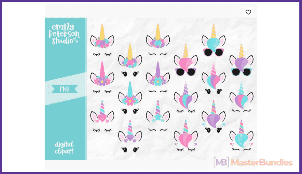 45+ Best Unicorn Clipart Elements in 2020: For those who Believe in Miracles - unicorn clipart 12