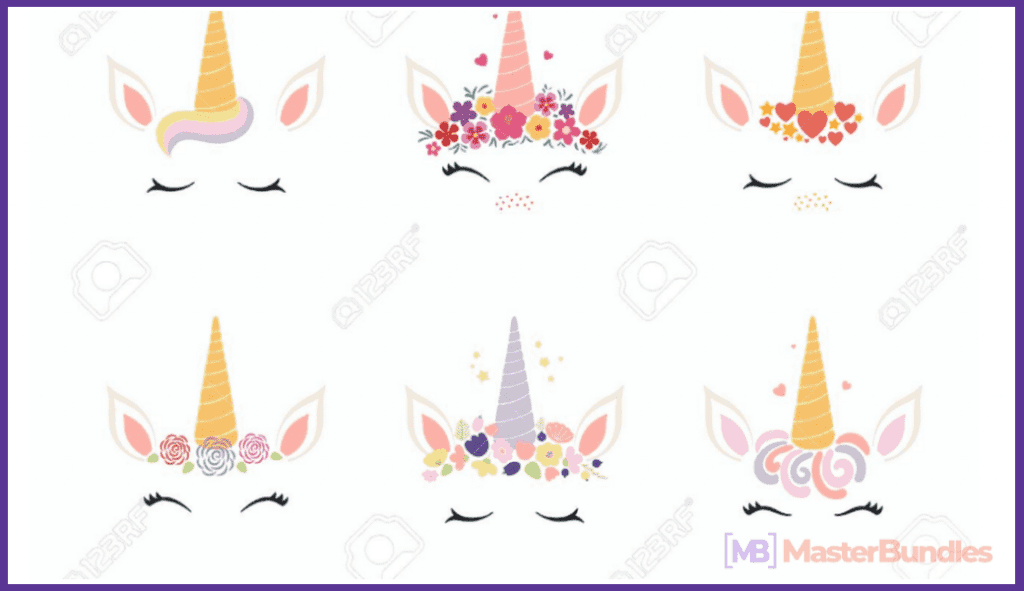 45+ Best Unicorn Clipart Elements in 2020: For those who Believe in Miracles - unicorn clipart 13