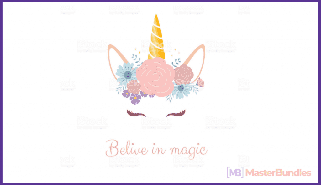 45+ Best Unicorn Clipart Elements in 2020: For those who Believe in Miracles - unicorn clipart 15