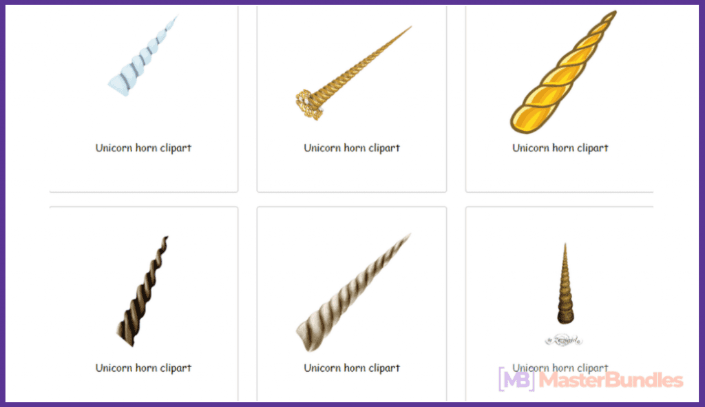 45+ Best Unicorn Clipart Elements in 2020: For those who Believe in Miracles - unicorn clipart 18