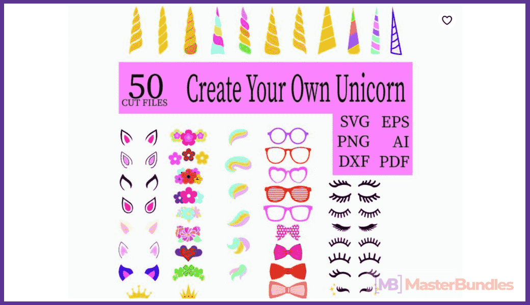 45+ Best Unicorn Clipart Elements in 2020: For those who Believe in Miracles - unicorn clipart 20