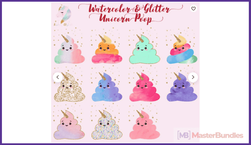 45+ Best Unicorn Clipart Elements in 2020: For those who Believe in Miracles - unicorn clipart 21