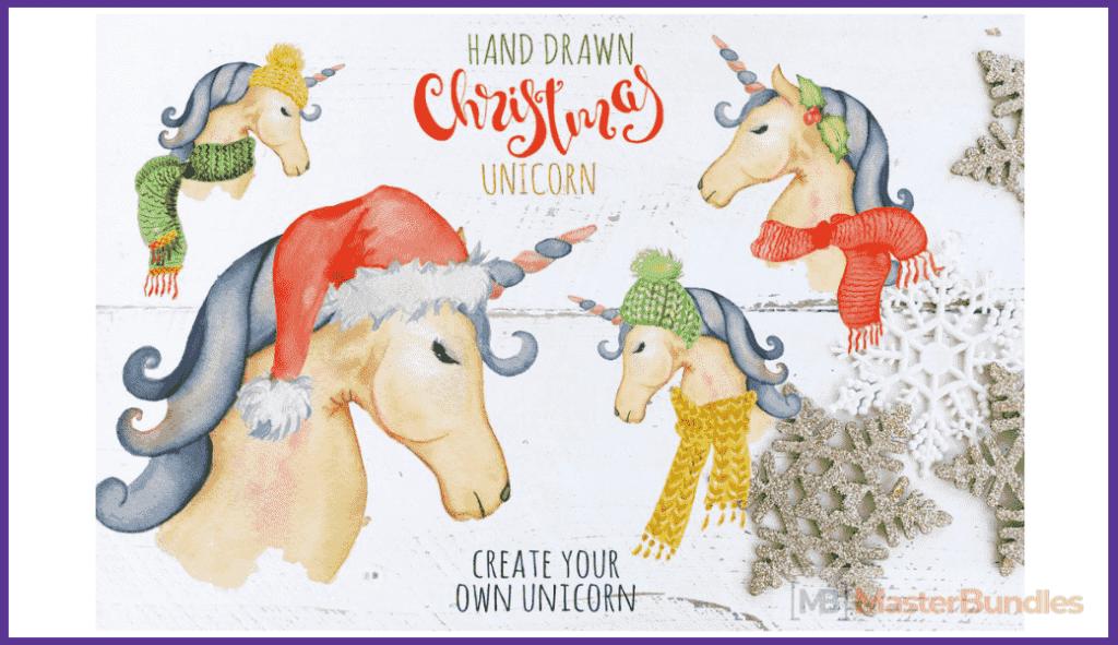Christmas unicorn creator.