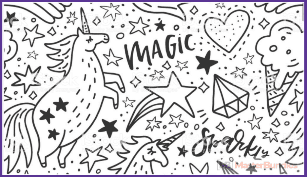 45+ Best Unicorn Clipart Elements in 2020: For those who Believe in Miracles - unicorn clipart 6