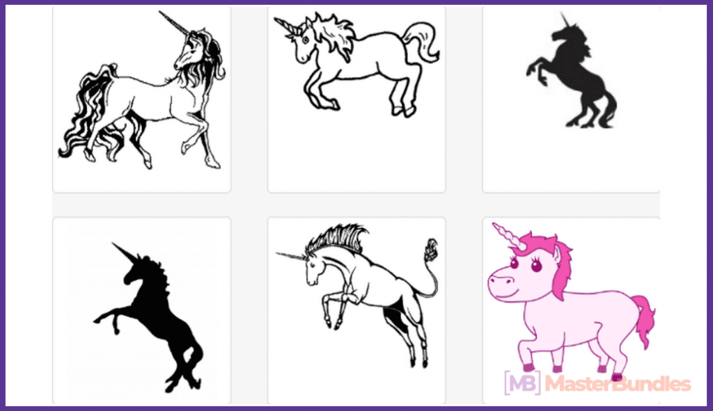 45+ Best Unicorn Clipart Elements in 2020: For those who Believe in Miracles - unicorn clipart 8