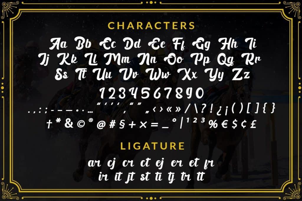 Black Ryder - Bold Script Font - $3 - 7 min