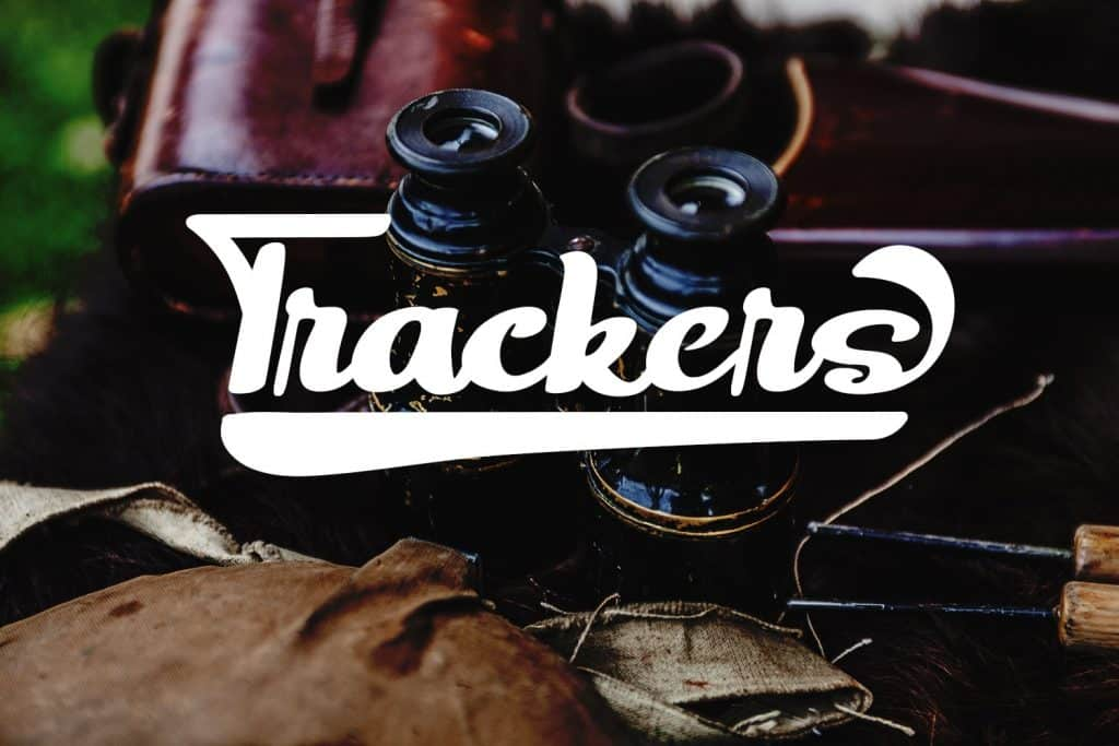 Trackers Bold Script Fonts - $12 - Preview1 min