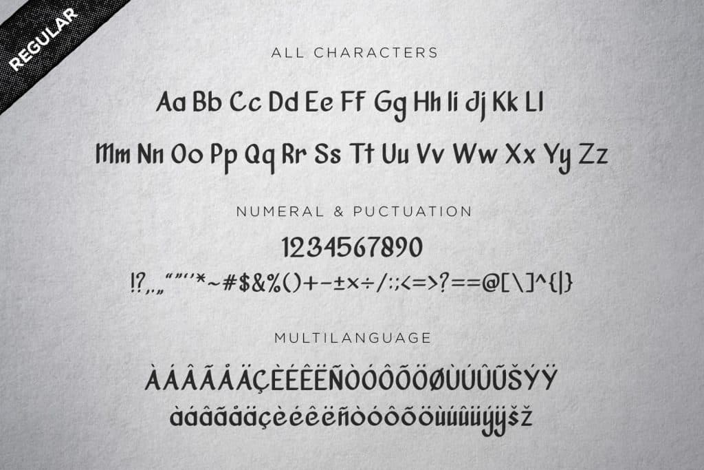 Vanjar Sans Serif Clean Font - Vanjar2