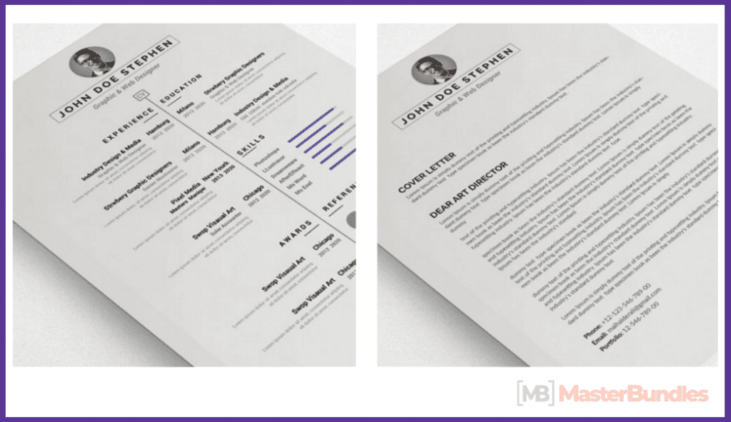 44+ Best Computer Science Resume Templates: Free and Premium - best computer science resume templates 03