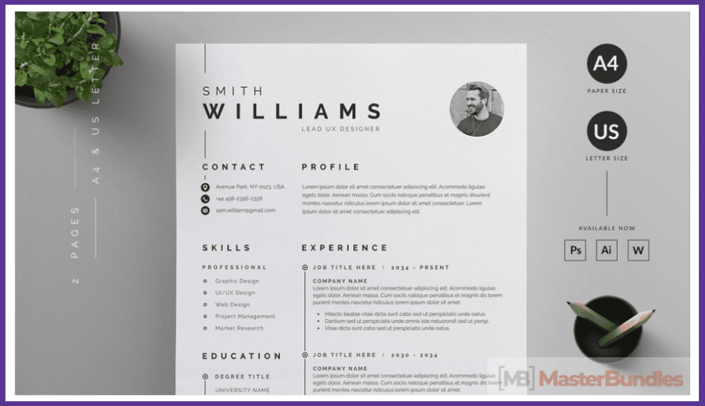 44+ Best Computer Science Resume Templates: Free and Premium - best computer science resume templates 08