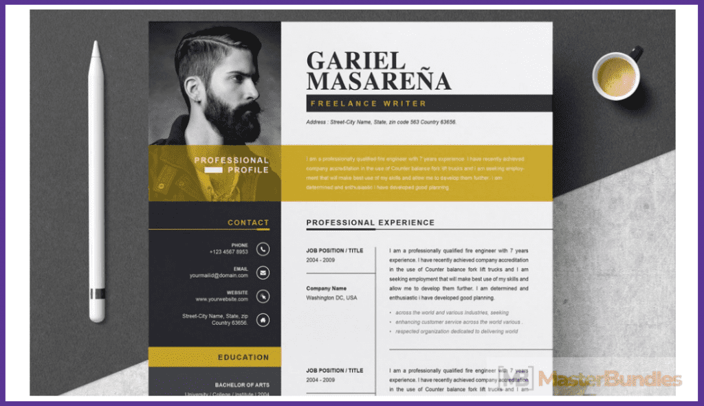 44+ Best Computer Science Resume Templates: Free and Premium - best computer science resume templates 11