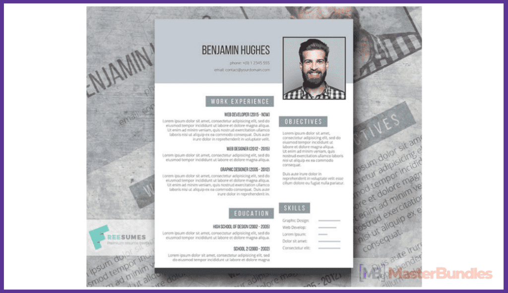 44+ Best Computer Science Resume Templates: Free and Premium - best computer science resume templates 29