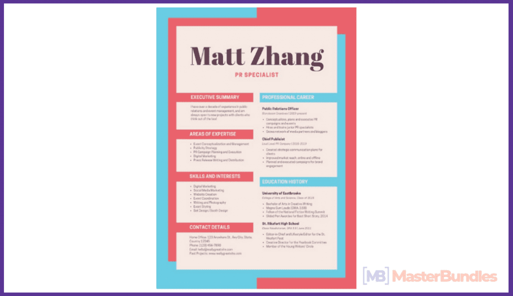 44+ Best Computer Science Resume Templates: Free and Premium - best computer science resume templates 35
