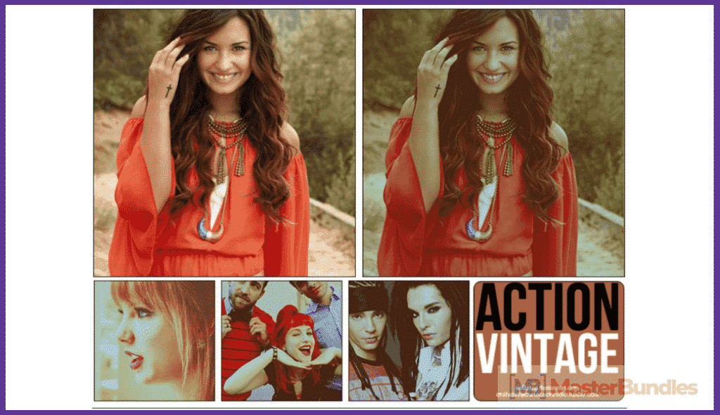 65+ Best Vintage Photoshop Actions 2020. Free and Premium - best photoshop actions 2020 05