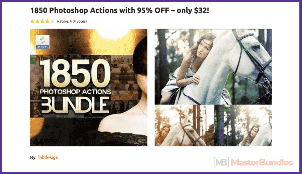 65+ Best Vintage Photoshop Actions 2020. Free and Premium - best photoshop actions 2020 09