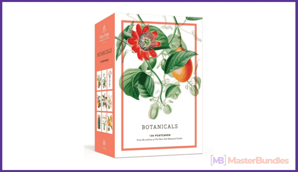 Botanicals: 100 Postcards from the Archives of the New York Botanical Garden.