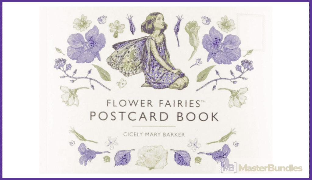 Flower-Fairies Postcard Book.