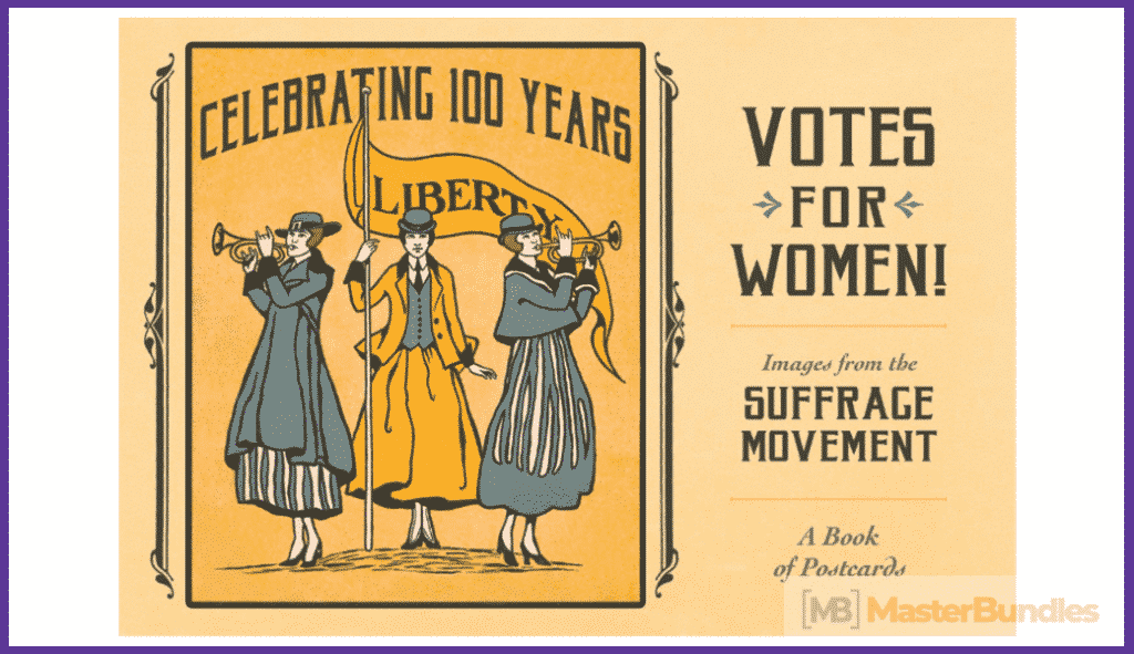 Votes for Women! The Suffrage Movement Book of Postcards.