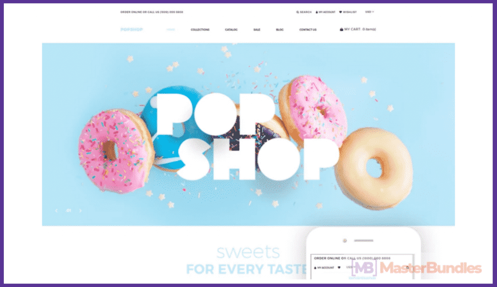 20+ Best Shopify Themes in 2020. Create an e-Store! - best shopify themes 2020 01