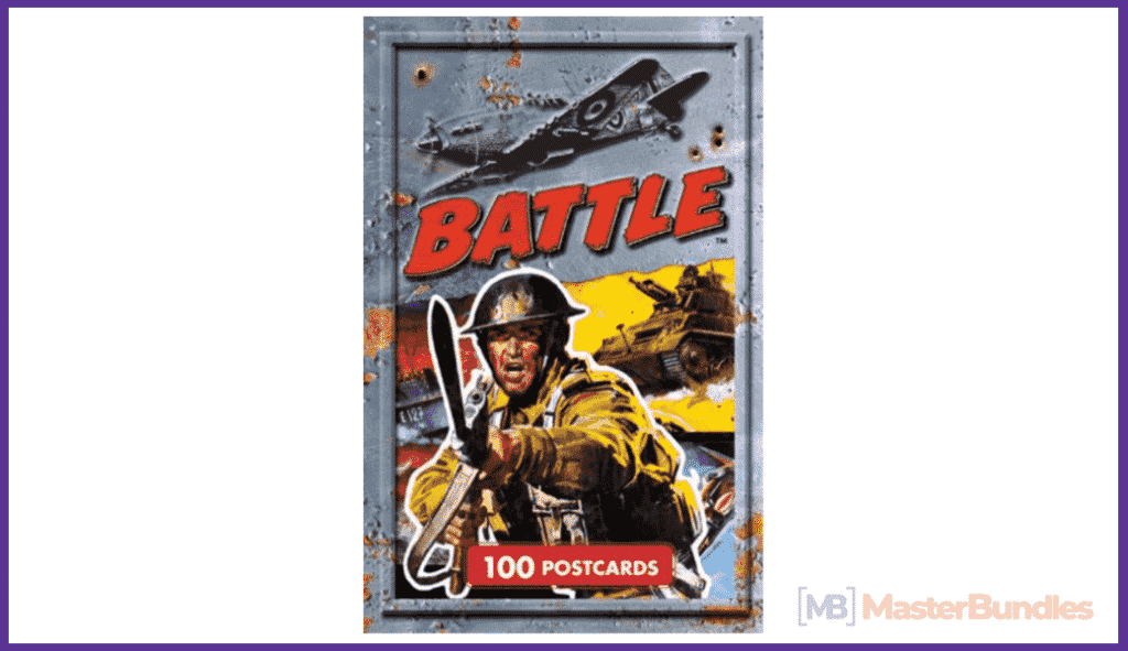 Battle Postcards: 100 Postcards (Classic Comics Postcard Collection).