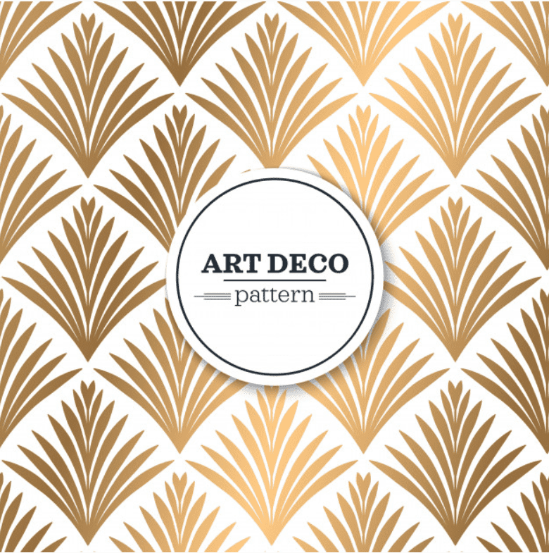 Best Examples Art Deco Graphic Design: Fonts, Posters, Logos, Patterns - image27
