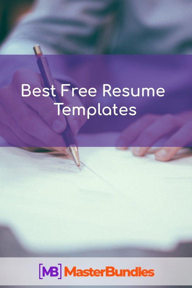 Best Free Resume Templates.