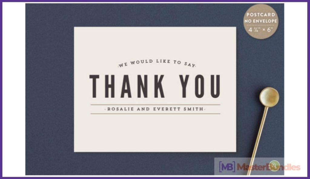 30+ Best Thank You Postcards in 2020 - best thank you postcards 25