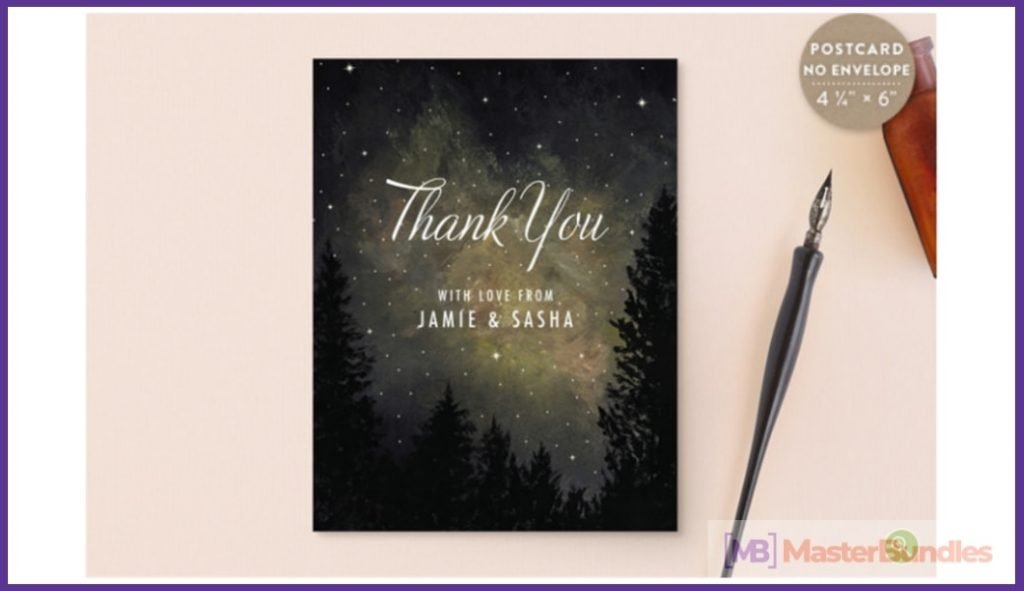 30+ Best Thank You Postcards in 2020 - best thank you postcards 26