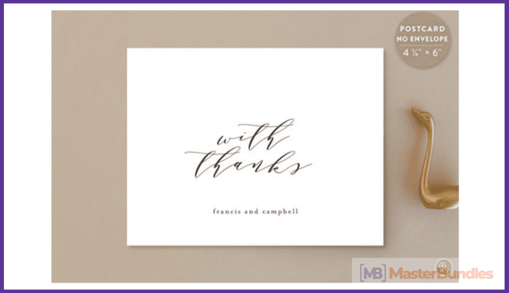 30+ Best Thank You Postcards in 2020 - best thank you postcards 29