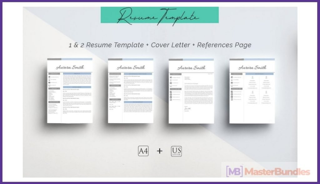 50+ Best Chronological Resume Templates in 2020: Free and Premium - chronological resume templates 11
