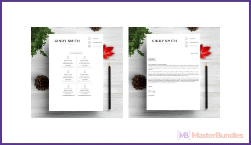 50+ Best Chronological Resume Templates in 2020: Free and Premium - chronological resume templates 17