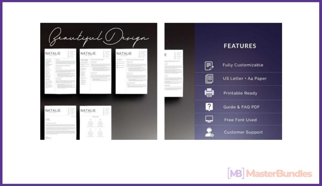 50+ Best Chronological Resume Templates in 2020: Free and Premium - chronological resume templates 18