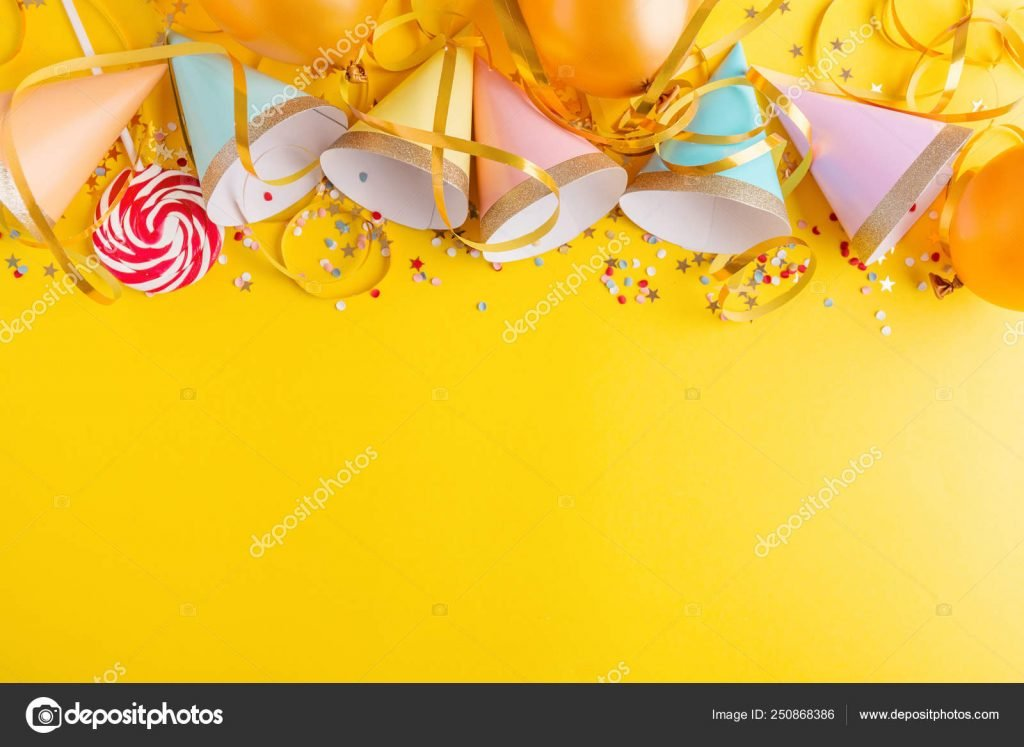 1000+ Yellow Background: Cheap Stock Photos & Images .jpg - depositphotos 250868386 stock photo birthday party background on yellow