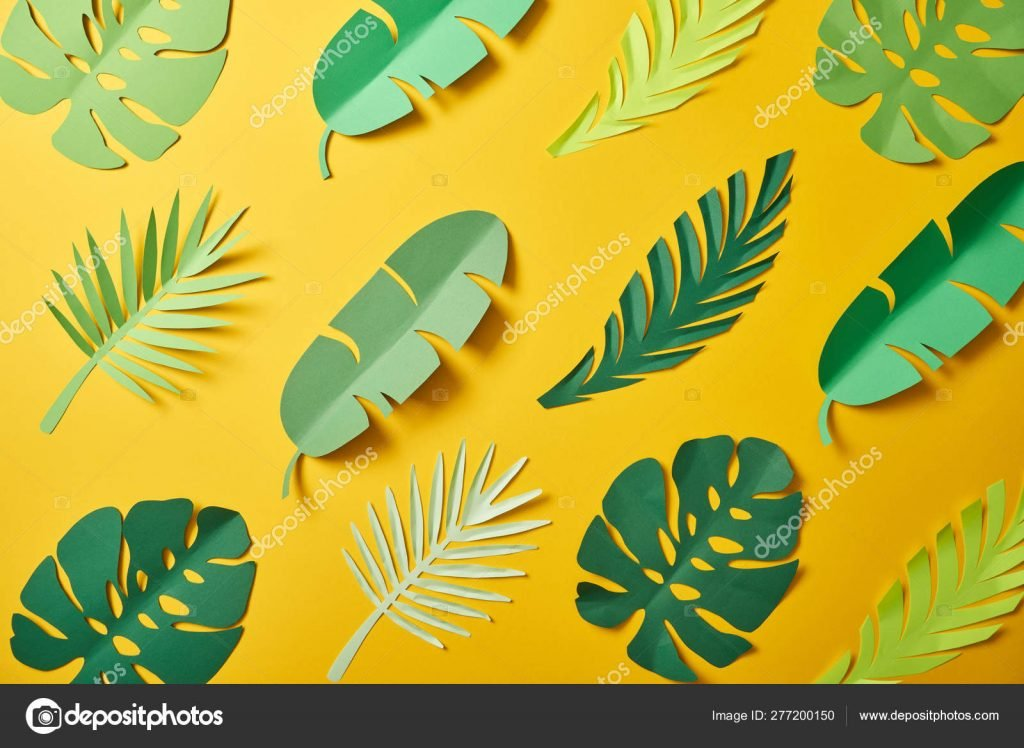 1000+ Yellow Background: Cheap Stock Photos & Images .jpg - depositphotos 277200150 stock photo top view paper cut green
