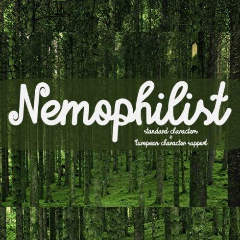 Nemophilist Font - Standard Characters + European Character Support - nemophilist1 490x490