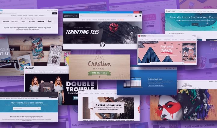 Sell Your Design Work Online Places.