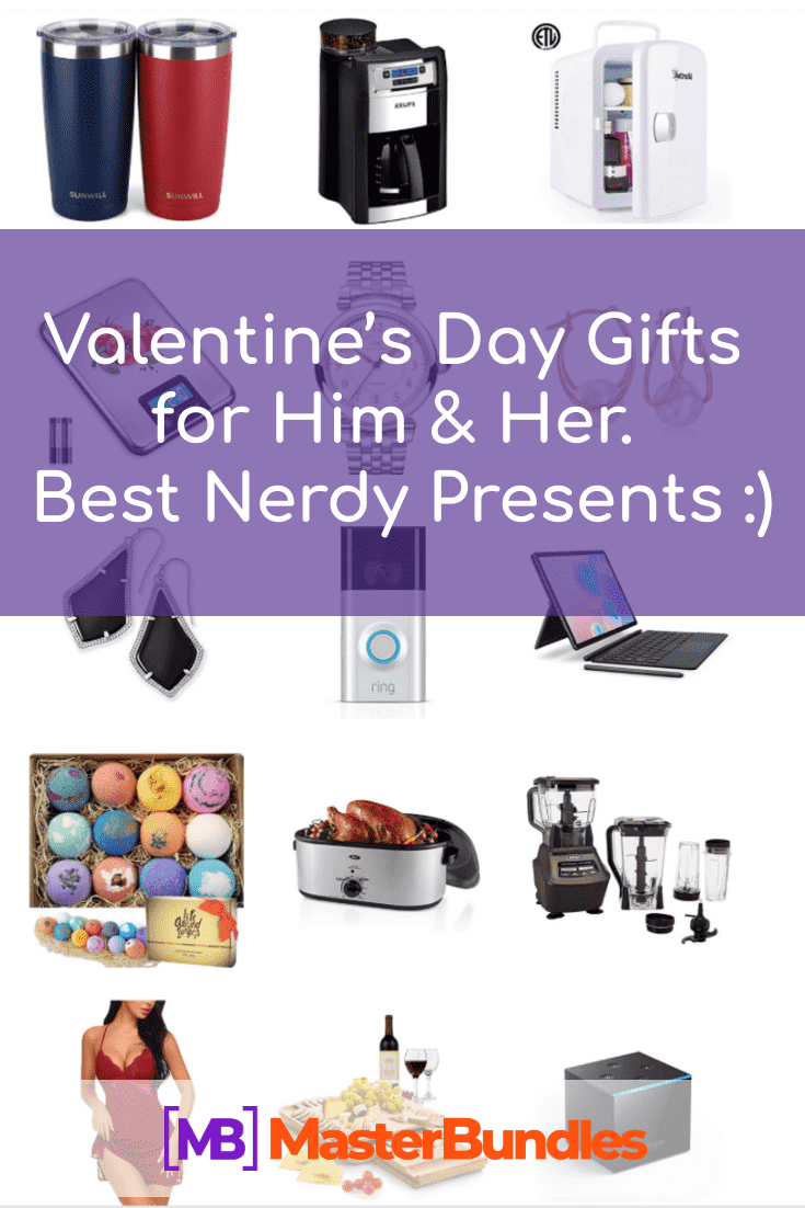 60+ Valentine's Day Gifts for Him & Her in 2021. Best Nerdy Presents :) - valentines day gifts for him her pinterest
