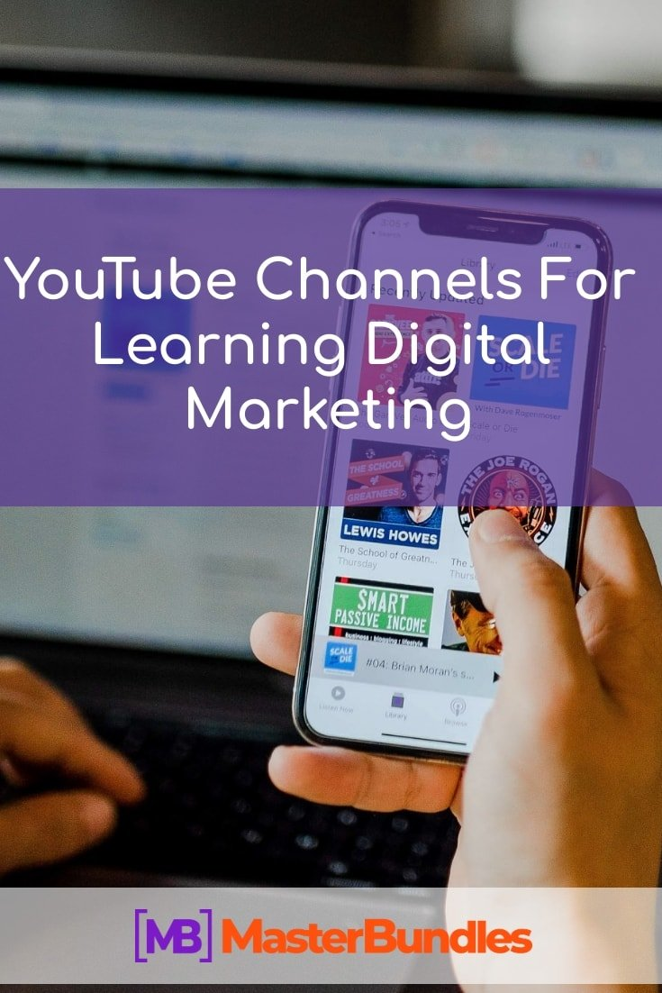 Youtube Channels for Learning Digital Marketing.