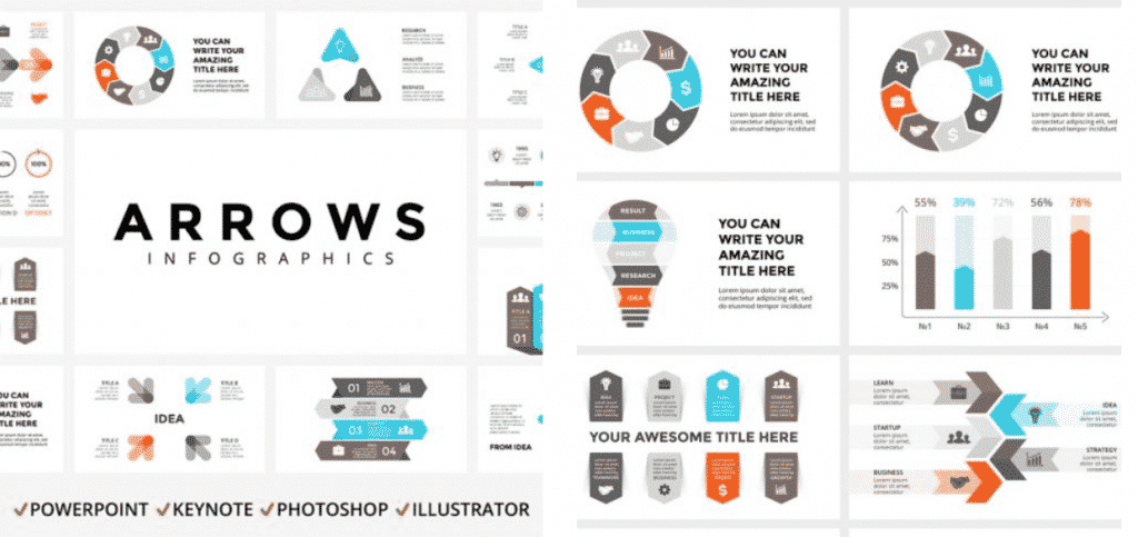 50 Creative PowerPoint Templates in 2020: Free And Premium. Best Creative Presentation Ideas - creative powerpoint templates 03