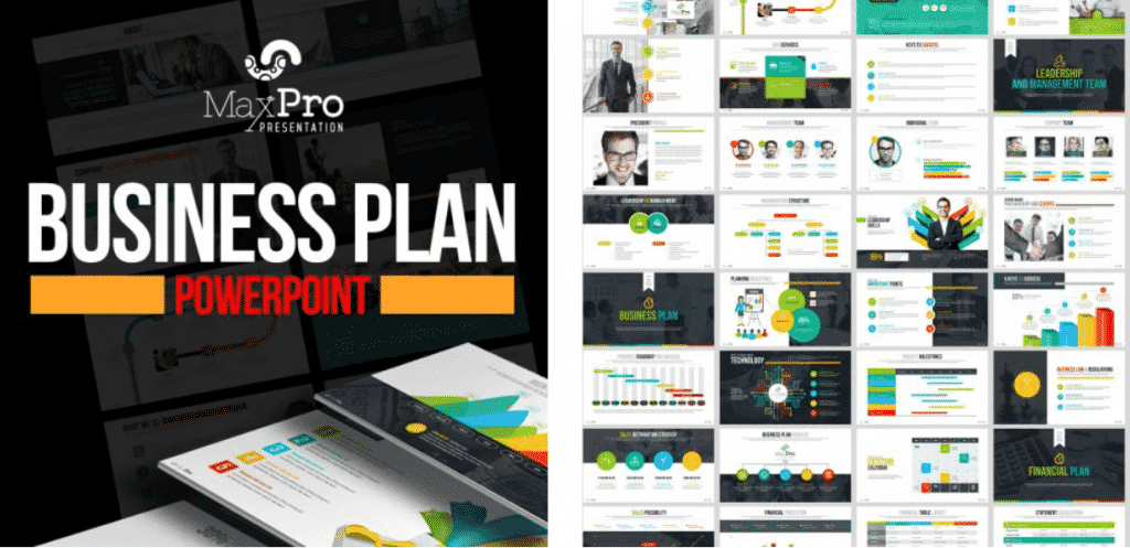 50 Creative PowerPoint Templates in 2020: Free And Premium. Best Creative Presentation Ideas - creative powerpoint templates 07