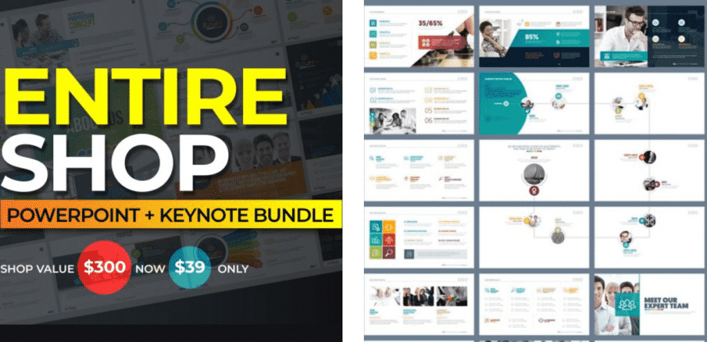 50 Creative PowerPoint Templates in 2020: Free And Premium. Best Creative Presentation Ideas - creative powerpoint templates 08