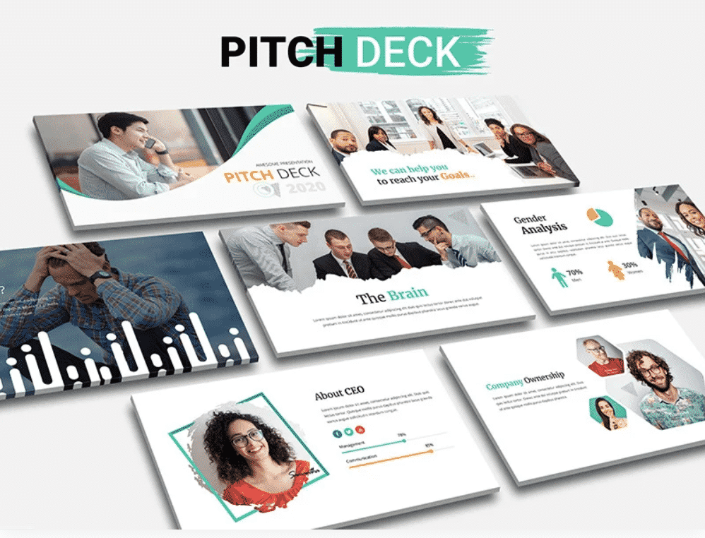 50 Creative PowerPoint Templates in 2020: Free And Premium. Best Creative Presentation Ideas - creative powerpoint templates 10