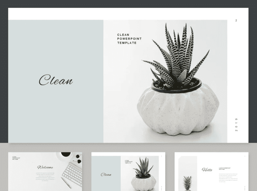 50 Creative PowerPoint Templates in 2020: Free And Premium. Best Creative Presentation Ideas - creative powerpoint templates 13