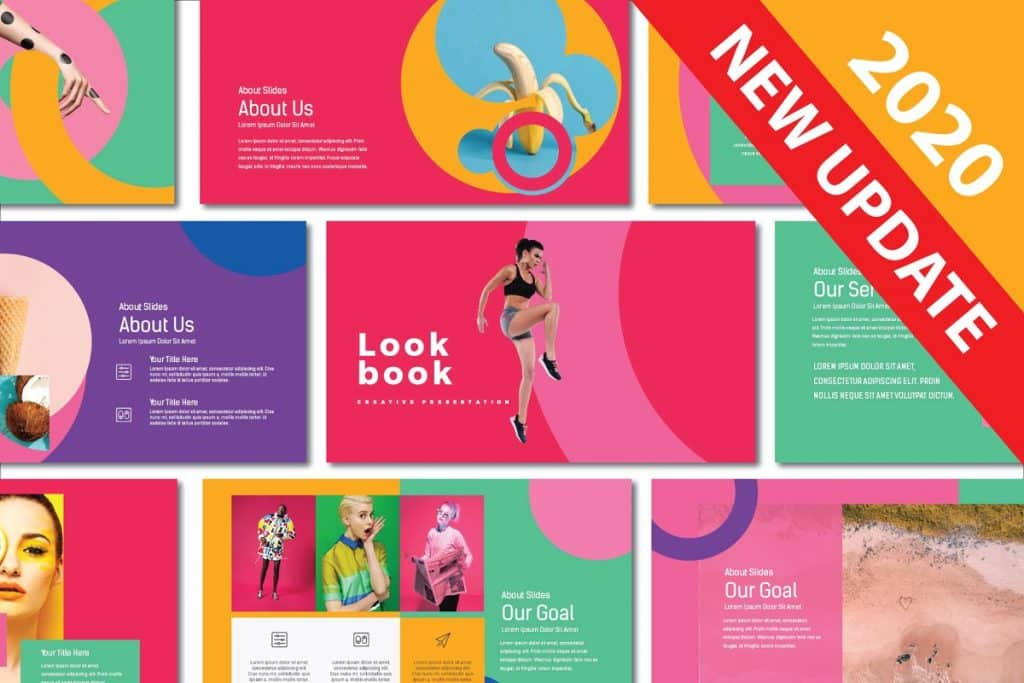 50 Creative PowerPoint Templates in 2020: Free And Premium. Best Creative Presentation Ideas - creative powerpoint templates 15