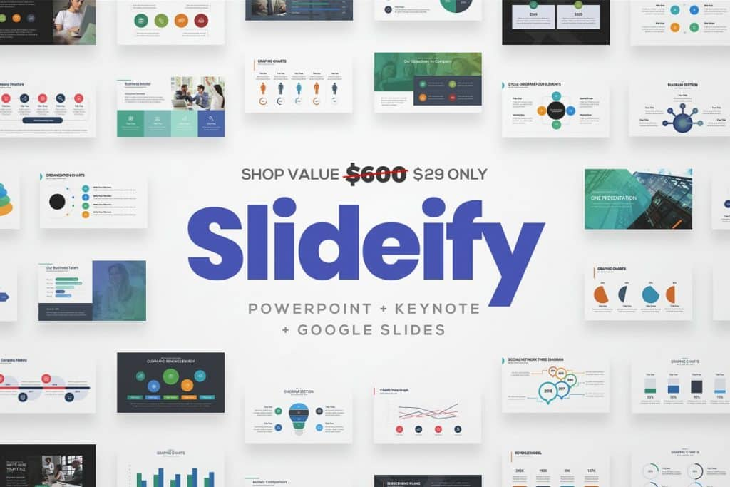 50 Creative PowerPoint Templates in 2020: Free And Premium. Best Creative Presentation Ideas - creative powerpoint templates 16