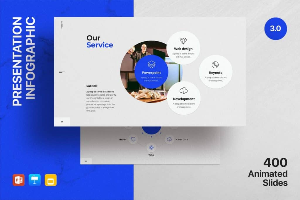 50 Creative PowerPoint Templates in 2020: Free And Premium. Best Creative Presentation Ideas - creative powerpoint templates 17