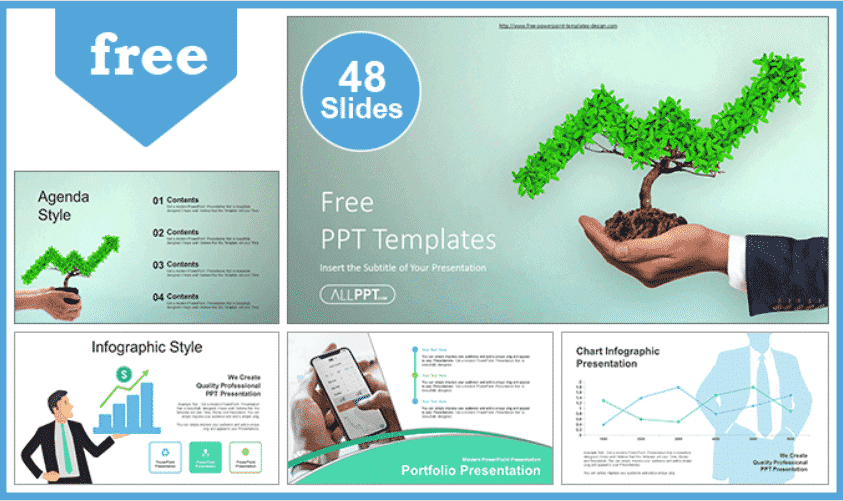 50 Creative PowerPoint Templates in 2020: Free And Premium. Best Creative Presentation Ideas - creative powerpoint templates 24
