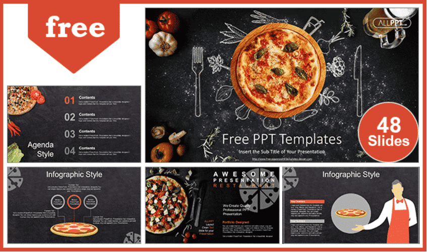 50 Creative PowerPoint Templates in 2020: Free And Premium. Best Creative Presentation Ideas - creative powerpoint templates 26