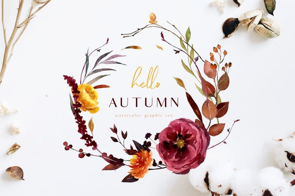 70+ Best Fall & Autumn Clip Art Collection in 2020 - fall autumn clipart 2020 05